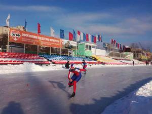 Открытое первенство МАУ ДО  «ДЮСШ №1» по конькобежному спорту
